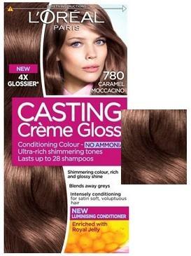 L'OREAL БОЯ ЗА КОСА CASTING CREME GLOSS L'oreal Casting Creme Gloss боя за коса, Вариант: 780 карамелено мокачино