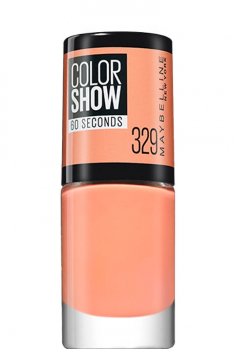 Maybelline Color Show лак за нокти MAYBELLINE ЛАК ЗА НОКТИ COLOR SHOW 7МЛ 329 CANAL STREET CORAL