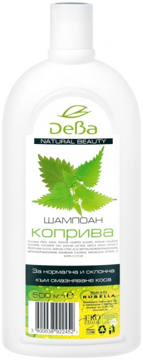 ДЕВА NATURAL BEAUTY КОПРИВА 500МЛ