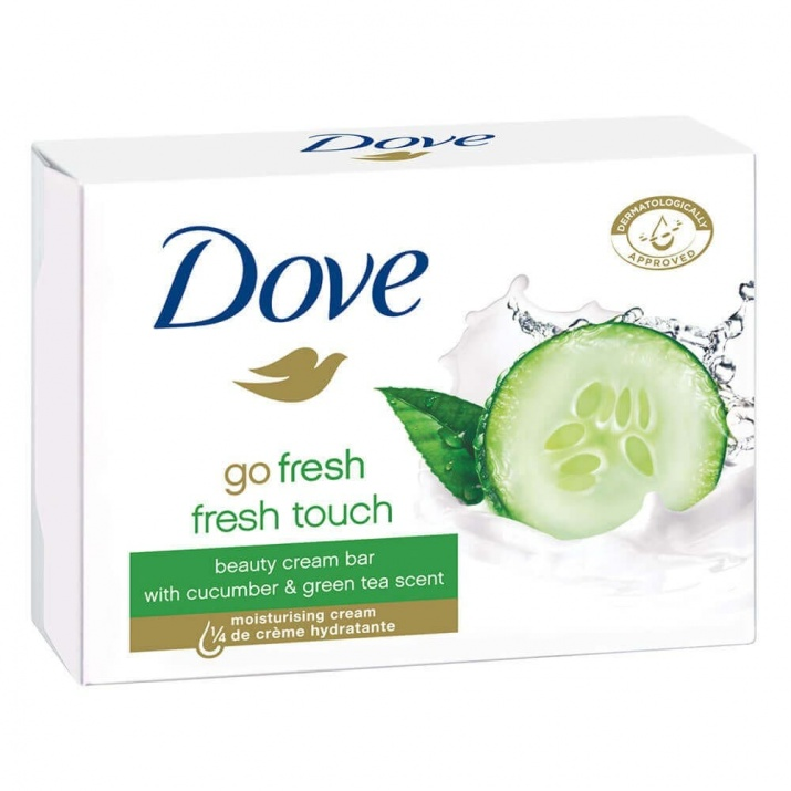 DOVE САПУН ЗА ТЯЛО 100ГР DOVE САПУН BEAUTY BAR GO FRESH TOUCH 100ГР