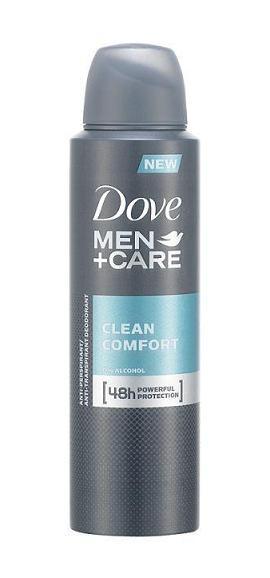 DOVE ДЕЗОДОРАНТ MEN+CARE ЗА МЪЖЕ 150МЛ DOVE ДЕЗОДОРАНТ MEN+CARE CLEAN COMFORT ЗА МЪЖЕ 150МЛ