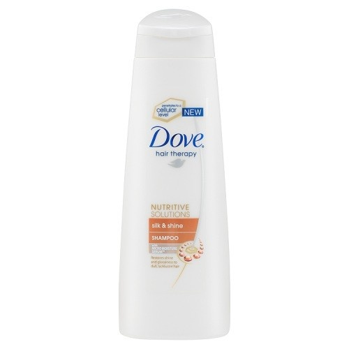 Dove Silk & Shine шампоан за коса блясък