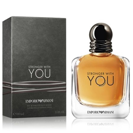 EMPORIO ARMANI STRONGER WITH YOU ТОАЛЕТНА ВОДА ЗА МЪЖЕ 100МЛ