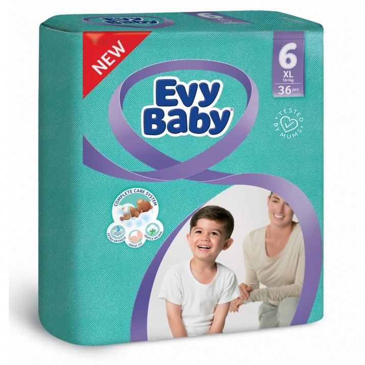 EVY BABY ПАМПЕРС 16+ 36БР