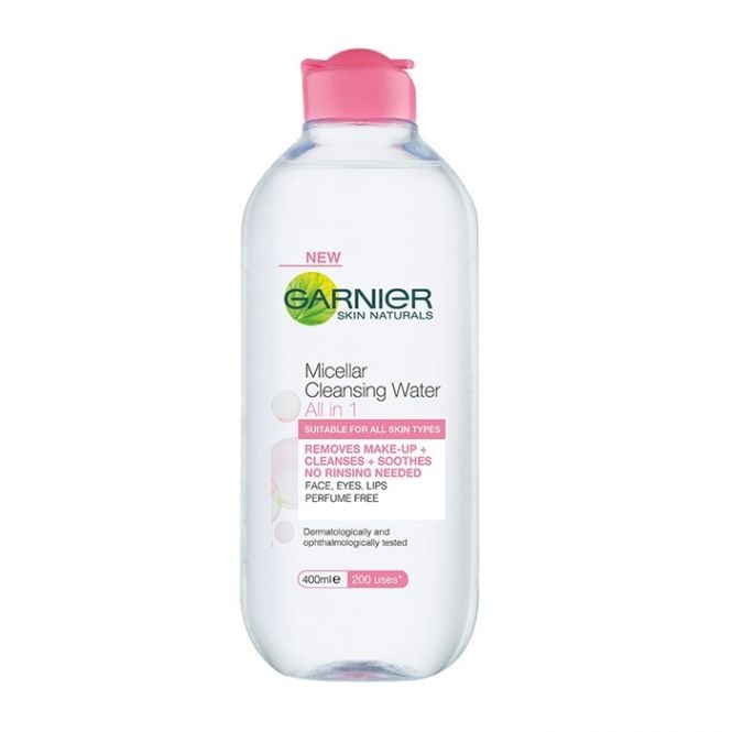 GARNIER МИЦЕЛАРНА ВОДА  MICELLAR CLEANSING WATER 400МЛ