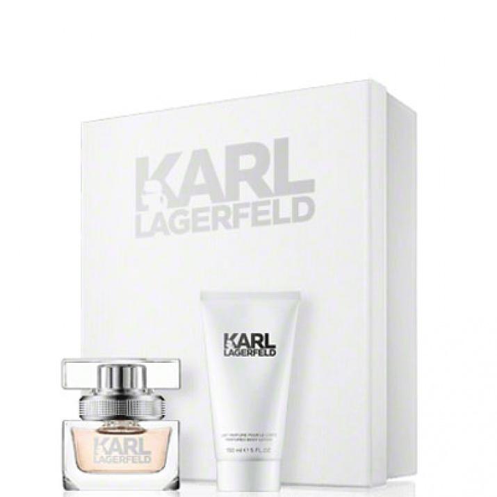 Karl Lagerfeld дамски комплект EDP 25мл + 50мл лосион