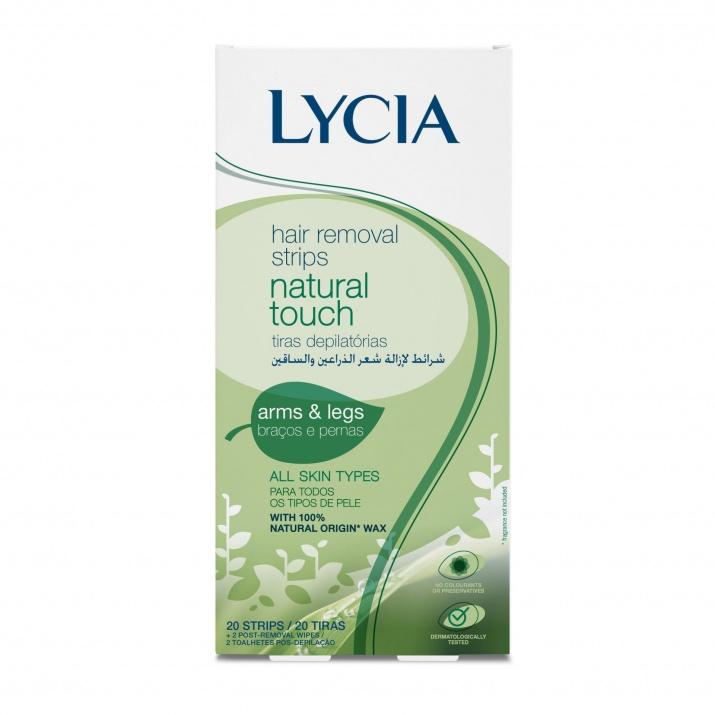 Lycia Natural Touch депилиращи ленти за тяло 1бр