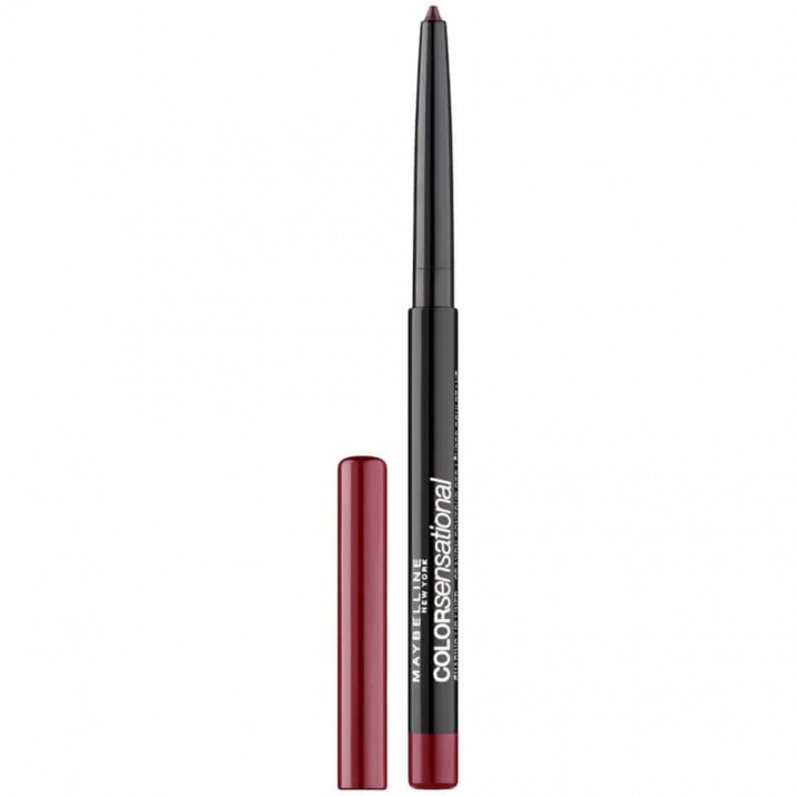 MAYBELLINE МОЛИВ ЗА УСТНИ COLOR SENSATIONAL SHAPING LIP LINER MAYBELLINE МОЛИВ ЗА УСТНИ COLOR SENSATIONAL SHAPING LIP LINER 110 RICH WINE