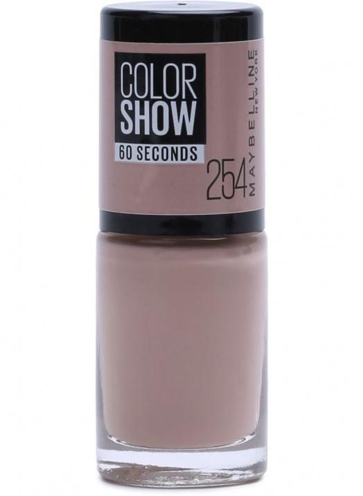 Maybelline Color Show лак за нокти MAYBELLINE ЛАК ЗА НОКТИ COLOR SHOW 7МЛ 254 LATTE