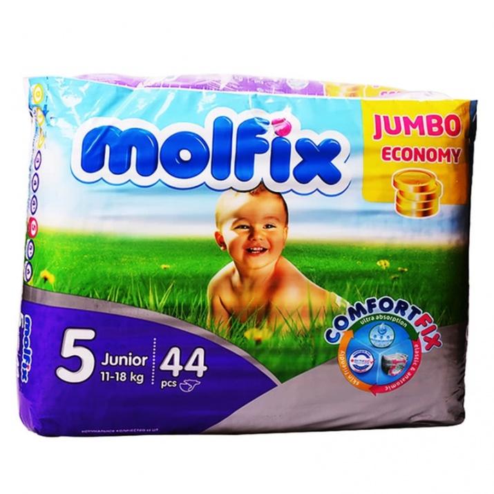 MOLFIX ПАМПЕРС 11-18КГ 44БР