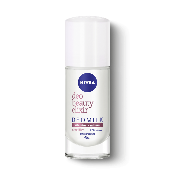 NIVEA РОЛ-ОН DEO BEAUTY ELIXIR ЗА ЖЕНИ 40МЛ NIVEA РОЛ-ОН BEAUTY ELIXIR SENSITIVE ЗА ЖЕНИ 40МЛ