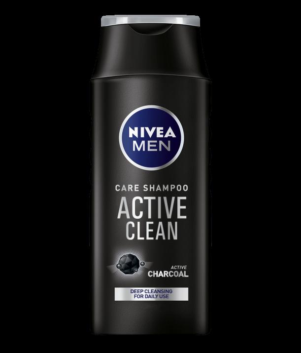 NIVEA ШАМПОАН ЗА КОСА MEN ЗА МЪЖЕ 400МЛ Nivea Men Active Clean шампоан за мъже