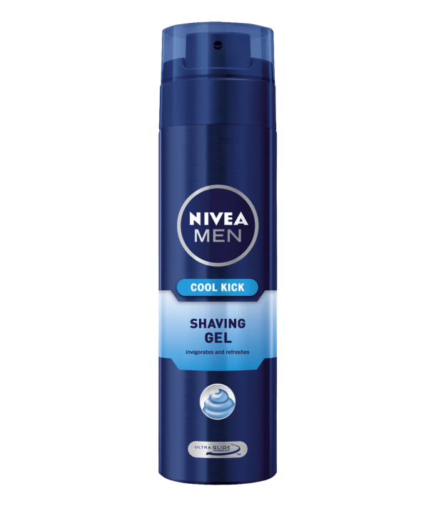 Nivea For Men Cool Kick освежаващ гел за бръснене за мъже NIVEA FOR MEN COOL KICK ОСВЕЖАВАЩ ГЕЛ ЗА БРЪСНЕНЕ 200МЛ