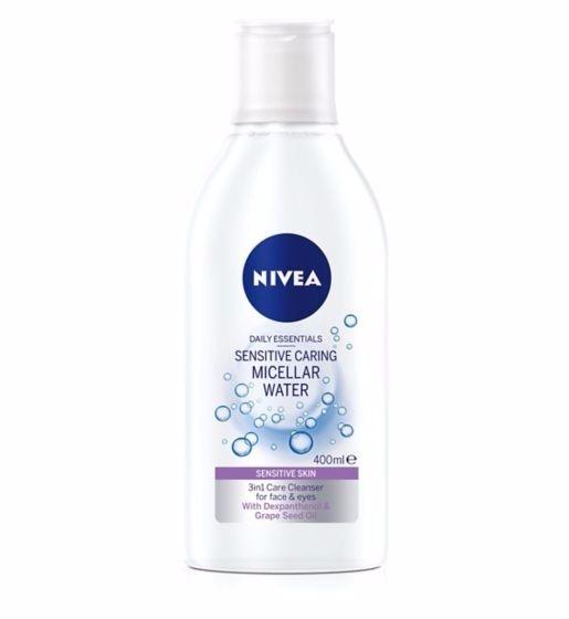 Nivea Micellar Water мицеларна вода 400мл Nivea Sensitive мицеларна вода за чувствителна кожа