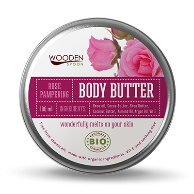 Wooden Spoon Rose Pampering крем за тяло