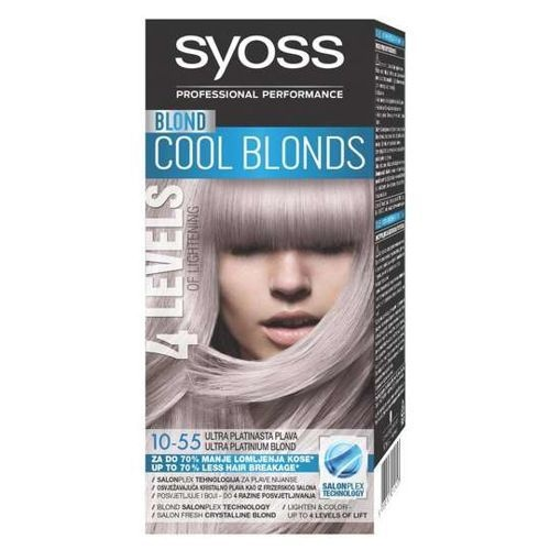Syoss Professional Performance боя за коса SYOSS БОЯ ЗА КОСА 10-55
