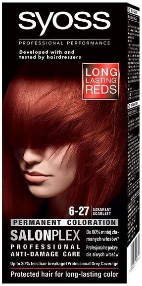 Syoss Professional Performance боя за коса Syoss Professional Performance боя за коса 6-27