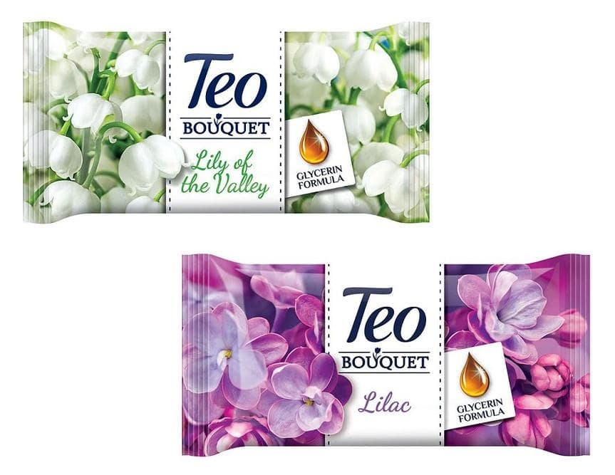 TEO САПУН BOUQUET 70ГР
