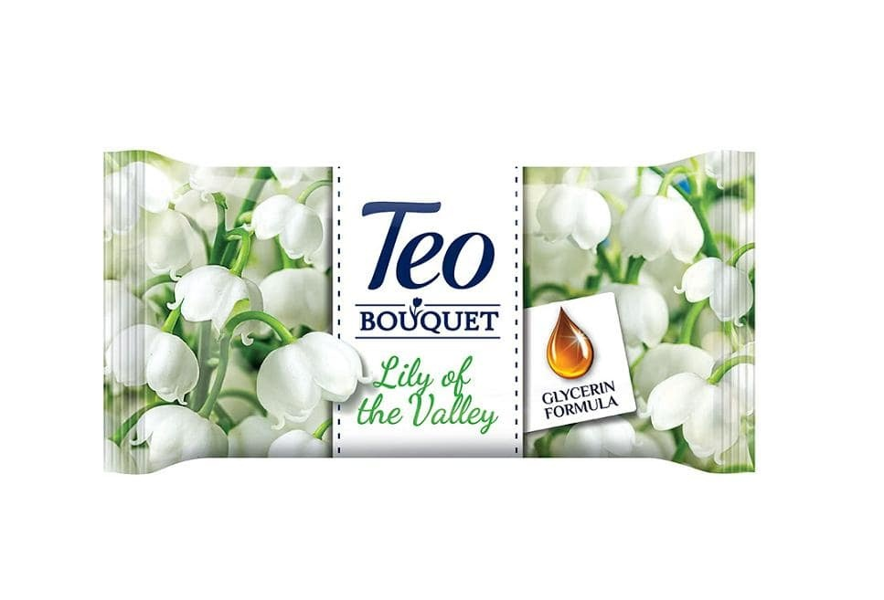 TEO САПУН BOUQUET 70ГР TEO САПУН BOUQUET LILY OF THE VALLEY/EXOTIC 70ГР