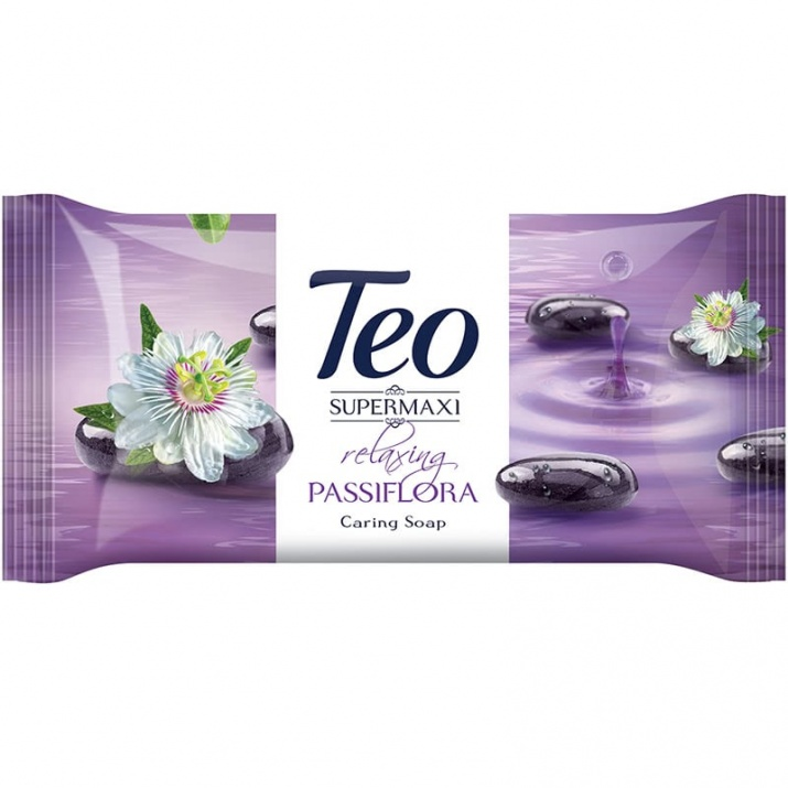 TEO САПУН SUPER MAXI 140ГР TEO САПУН SUPER MAXI RELAXING PASSIFLORA 140ГР