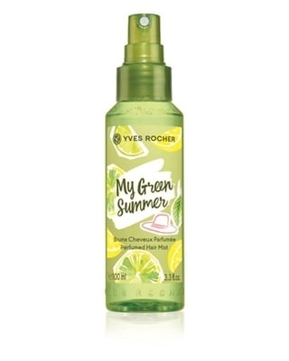 YVES ROCHER СПРЕЙ МИСТ PERFUMED BODY AND HAIR MIST ЗА ЖЕНИ 100МЛ YVES ROCHER СПРЕЙ МИСТ ЗА КОСА И ТЯЛО MY GREEN SUMMER 100МЛ
