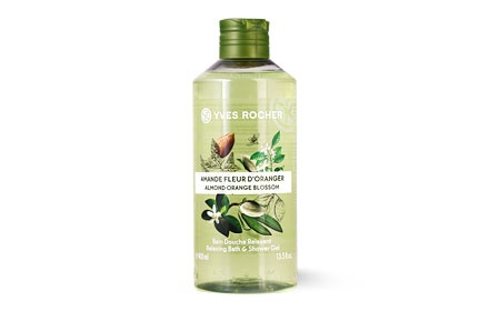 YVES ROCHER ДУШ ГЕЛ ЗА ТЯЛО 400МЛ YVES ROCHER ДУШ ГЕЛ 400МЛ ALMOND ORANGE BLOSSOM