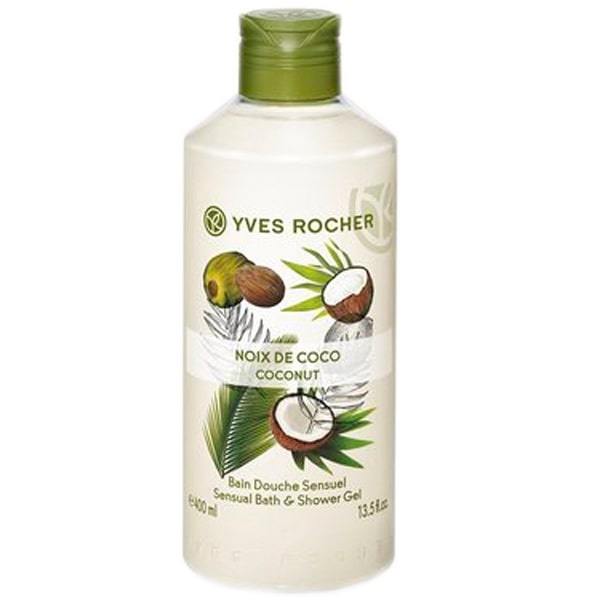 YVES ROCHER ДУШ ГЕЛ ЗА ТЯЛО 400МЛ YVES ROCHER ДУШ ГЕЛ 400МЛ COCONUT