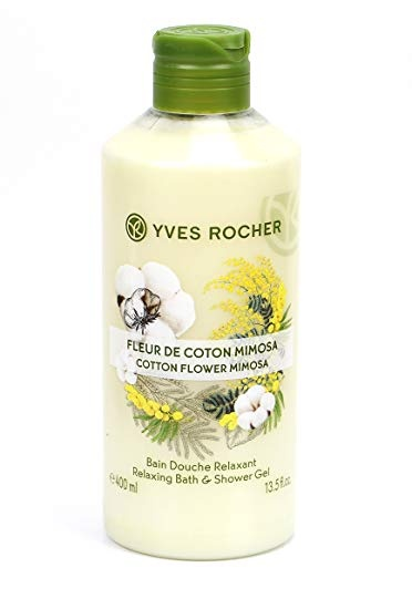 YVES ROCHER ДУШ ГЕЛ ЗА ТЯЛО 400МЛ YVES ROCHER ДУШ ГЕЛ 400МЛ COTTON FLOWER MIMOSA
