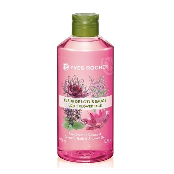 YVES ROCHER ДУШ ГЕЛ ЗА ТЯЛО 400МЛ YVES ROCHER ДУШ ГЕЛ 400МЛ LOTUS FLOWER SAGE