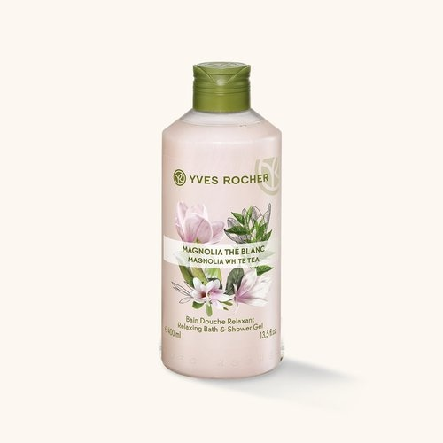 YVES ROCHER ДУШ ГЕЛ ЗА ТЯЛО 400МЛ YVES ROCHER ДУШ ГЕЛ 400МЛ MAGNOLIA WHITE TEA