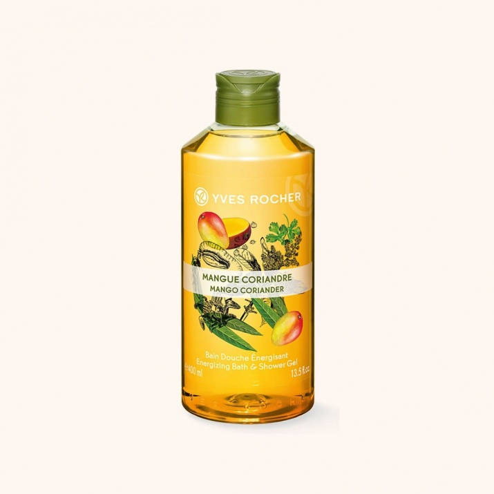 YVES ROCHER ДУШ ГЕЛ ЗА ТЯЛО 400МЛ YVES ROCHER ДУШ ГЕЛ 400МЛ MANGO CORIANDER