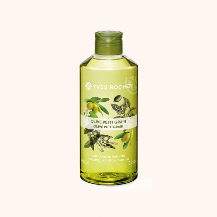 YVES ROCHER ДУШ ГЕЛ ЗА ТЯЛО 400МЛ YVES ROCHER ДУШ ГЕЛ 400МЛ OLIVE PETITGRAIN