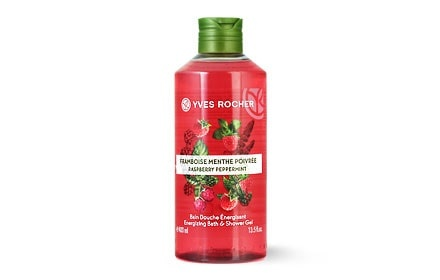 YVES ROCHER ДУШ ГЕЛ ЗА ТЯЛО 400МЛ YVES ROCHER ДУШ ГЕЛ 400МЛ RASPBERRY PEPPERMINT