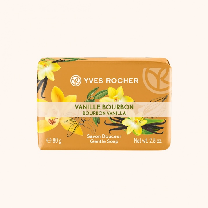 YVES ROCHER САПУН ЗА ТЯЛО 80ГР YVES ROCHER САПУН 80ГР BOURBON VANILLA