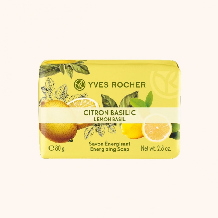 YVES ROCHER САПУН ЗА ТЯЛО 80ГР YVES ROCHER САПУН 80ГР LEMON BASIL