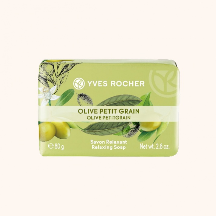 YVES ROCHER САПУН ЗА ТЯЛО 80ГР YVES ROCHER САПУН 80ГР OLIVE PETITGRAIN