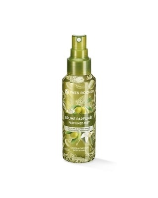 YVES ROCHER СПРЕЙ МИСТ PERFUMED BODY AND HAIR MIST ЗА ЖЕНИ 100МЛ YVES ROCHER СПРЕЙ МИСТ ЗА КОСА И ТЯЛО OLIVE PETITGRAIN 100МЛ