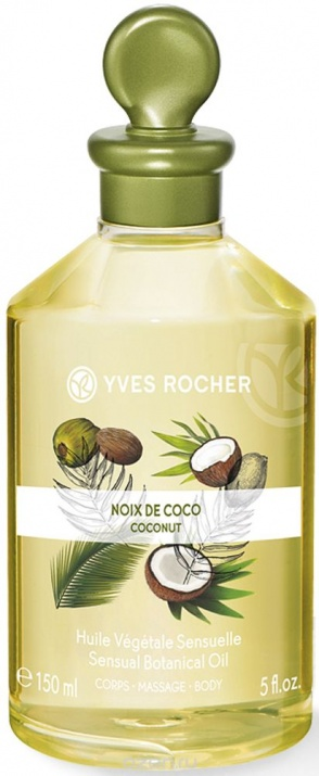 YVES ROCHER МАСАЖНО МАСЛО ЗА ТЯЛО BOTANICAL MASSAGE OIL 150МЛ YVES ROCHER МАСАЖНО МАСЛО ЗА ТЯЛО BOTANICAL MASSAGE OIL 150МЛ COCONUT